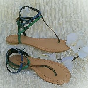 Rachel Roy 'Padina' T-strap Sandals